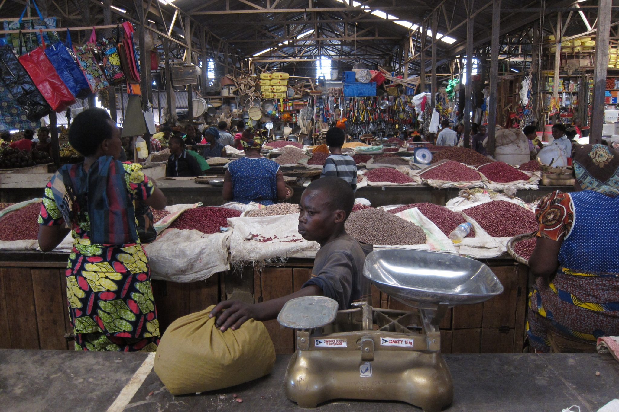 Marché local-Rwanda