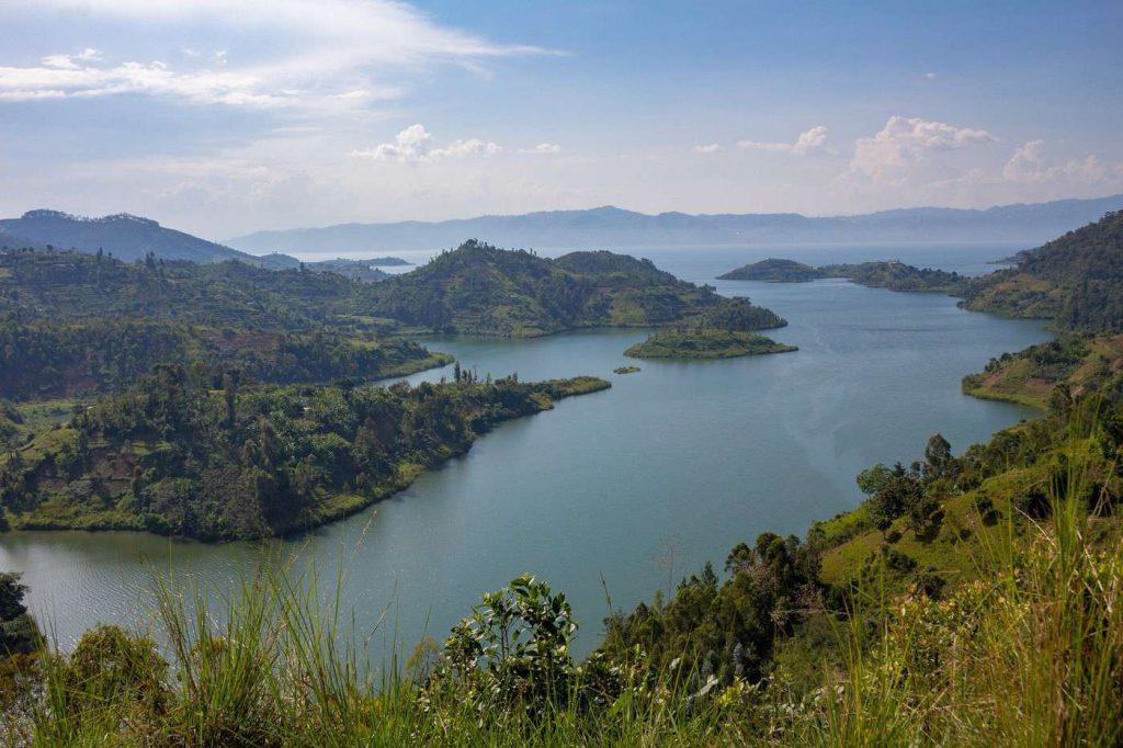 Le lac Kivu- Rwanda